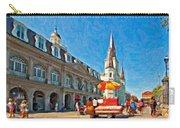 Ahh...new Orleans Impasto Carry-all Pouch by Steve Harrington