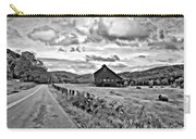 Ah...west Virginia Oil Bw Carry-all Pouch