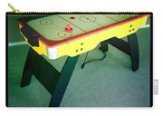 Air Hockey Table Carry-all Pouch by Les Cunliffe