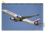 Airbus A330-300 Of Qatar Airways Carry-all Pouch