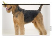 Airedale Terrier Dog Carry-all Pouch