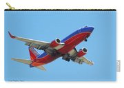 Airliner Landing At Sky Harbor Phoenix Arizona Carry-all Pouch