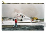 Airplane Crash Drill Landscape Carry-all Pouch