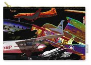 Airplanes Collage  Carry-all Pouch