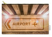 Airport Directions Carry-all Pouch