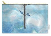 Airy Ace Of Wands Carry-all Pouch