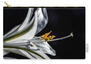 Ajo Lily Close Up Carry-all Pouch by Robert Bales