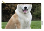 Akita Inu Dog Carry-all Pouch