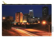 D1u-140 Akron Ohio Night Skyline Photo Carry-all Pouch