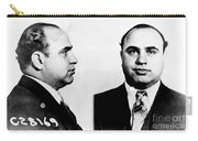 Al Capone Mug Shot Carry-all Pouch by Edward Fielding