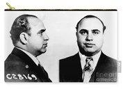 Al Capone Mug Shot Carry-all Pouch
