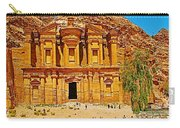 Al-dayr Or The Monastery In Petra-jordan  Carry-all Pouch