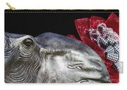 Alabama Football Mascot Carry-all Pouch by Kathy Clark