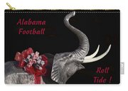 Alabama Football Roll Tide Carry-all Pouch by Kathy Clark