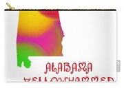 Alabama State Map Collection 2 Carry-all Pouch