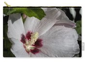 Alabama Wildflower -  Woolly Rose Mallow Carry-all Pouch