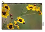 Alabama Wildflowers Coreopsis Tinctoria Tickseed Carry-all Pouch