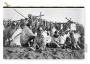 Alaska Drying Fish, C1900 Carry-all Pouch