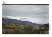 Alaska Highway At Lewes River Bridge  Carry-all Pouch