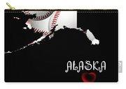 Alaska Loves Baseball Carry-all Pouch