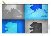 Alaska Map Art Carry-all Pouch