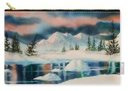 Alaska Panorama Carry-all Pouch by Teresa Ascone