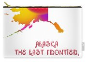 Alaska State Map Collection 2 Carry-all Pouch
