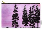 Colorful - Alaska - Sunset Carry-all Pouch