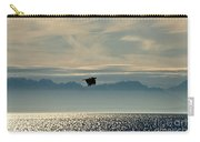 Alaskan Eagle At Sunset Carry-all Pouch