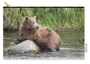 Alaskan Grizzly Carry-all Pouch