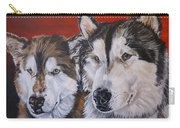 Alaskan Malamutes Carry-all Pouch