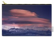 Alayos Mountains At Sunset In Sierra Nevada Carry-all Pouch