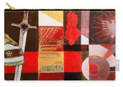 Albanian Figurative Simboles Reworked Carry-all Pouch