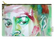 Albert Ayler - Watercolor Portrait Carry-all Pouch