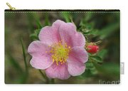 Alberta's Wild Rose Carry-all Pouch