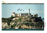 Alcatraz Blues Carry-all Pouch by Benjamin Yeager
