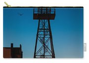 Alcatraz Guard Tower Carry-all Pouch by Steve Gadomski