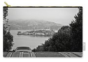 Alcatraz Island From Hyde Street In San Francisco Carry-all Pouch
