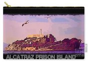 Alcatraz Prison Poster Carry-all Pouch