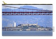 Alcatraz Through The Golden Gate Carry-all Pouch