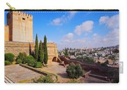 Alcazaba In Granada Carry-all Pouch