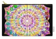 Alchemical Lotus Zodiac Carry-all Pouch