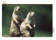 Alert Black-tailed Prairie Dogs Carry-all Pouch