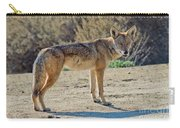 Alert Coyote Carry-all Pouch
