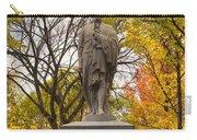 Alexander Hamilton Statue Carry-all Pouch by Joann Vitali