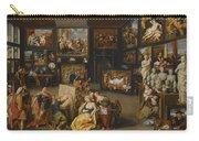 Alexander The Great Visiting The Studio Of Apelles Carry-all Pouch