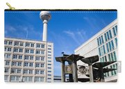 Alexanderplatz View On Television Tower Berlin Germany Carry-all Pouch