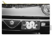 Alfa Romeo Grille Emblem -0287bw Carry-all Pouch