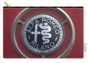 1961 Alfa Romeo Giulietta Sprint Veloce Series II Emblem -1045c Carry-all Pouch