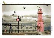 Algoma Pierhead Lighthouse Carry-all Pouch